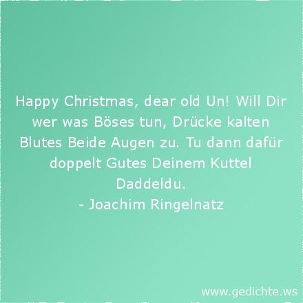 Schlechte Weihnachtsgedichte.Weihnachtsgedichte